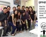Jason tan Strongerhead's student visit with GroupM