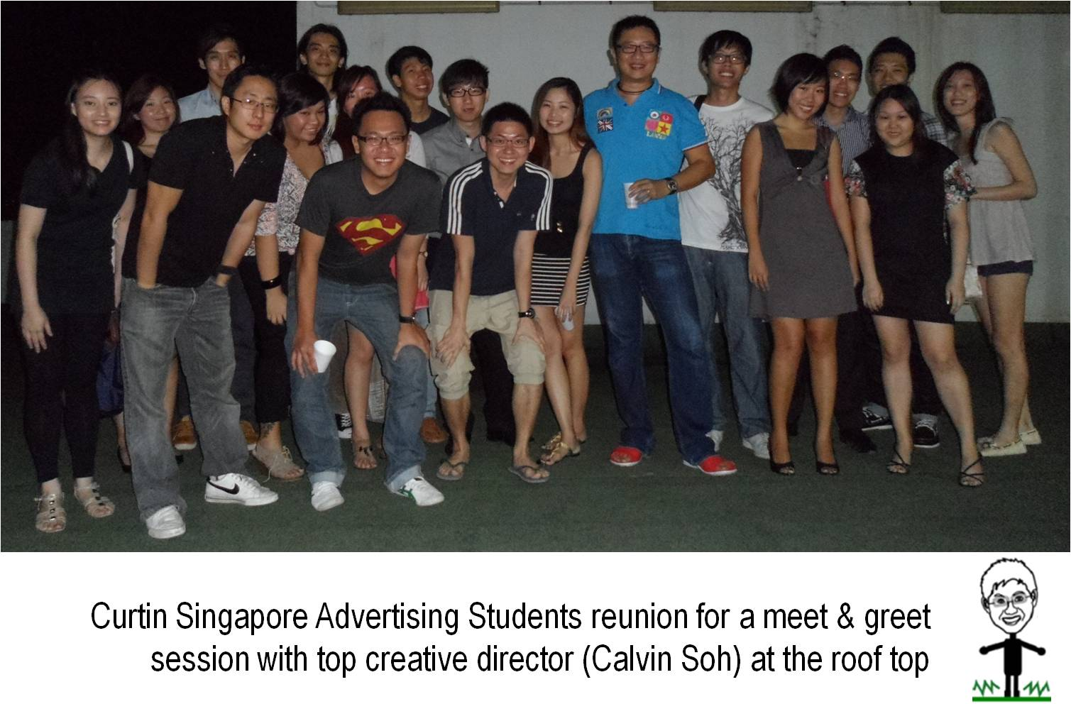 Curtin Students Reunion with Top Creative Director Paid to do math homework