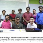 resume writing & interview workshop with Strongerhead at MIS