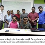 resume writing & interview workshop with Strongerhead at MIS take 2