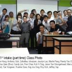 MIS DSMM 1st intake class photo with Jason Tan Strongerhead