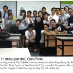 MIS DSMM 1st intake class photo with Jason Tan Strongerhead Take 2