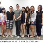 Jason Tan Strongerhead Curtin Ad211 Mar 2012 class