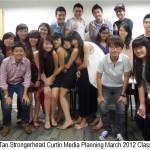 Jason Tan Strongerhead Media Planning Mar 2012 Class photo 5