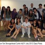 Jason Tan Strongerhead Curtin Ad211 July 2012 class photo