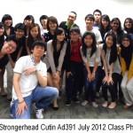 Jason Tan Strongerhead Curtin Ad391 July 2012 class photo 2
