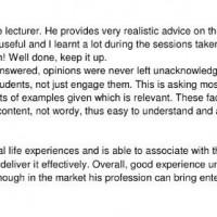 Jason Strongerhead PDM students comments