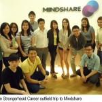 Jason Tan Strongerhead Career Outfield trip to Mindshare