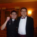 Jason Tan Strongerhead and Dr Donald Tan