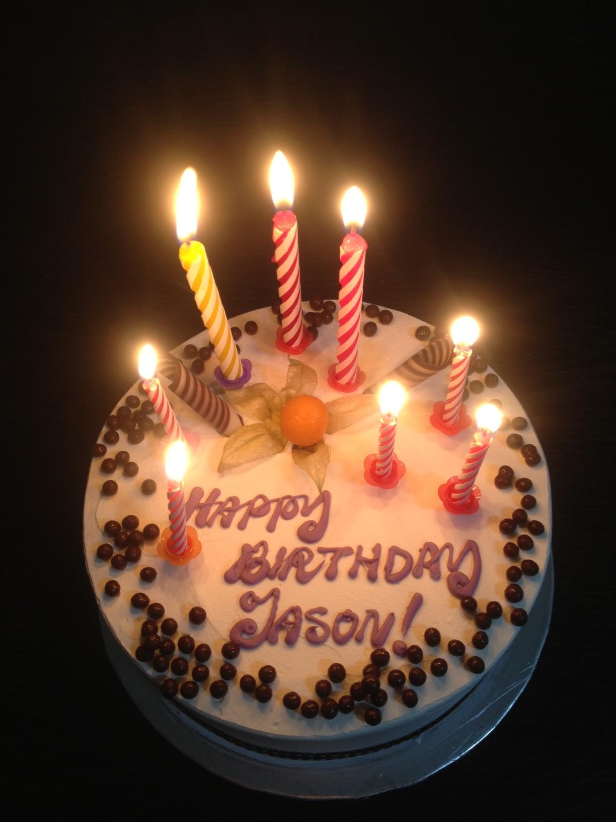 Jason Strongerhead 2013 birthday cake