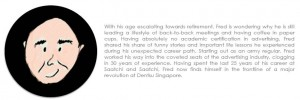 About Fred Eng from Dentsu