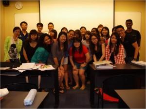 Jason Tan Strongerhead FOM PSB class photo Jul 2013