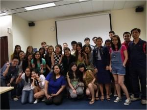 Jason Tan Strongerhead Marketing Management Class photo at Kaplan 2