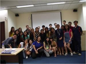 Jason Tan Strongerhead Marketing Management Class photo at Kaplan