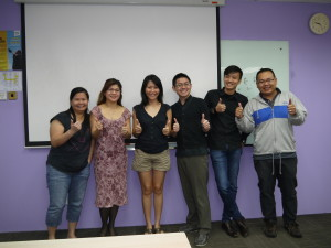 Jason Tan Strongerhead DDM 23 Oct 2014 Class photo 5