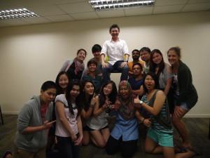 Curtin Advertising Class with Jason Tan Strongerhead