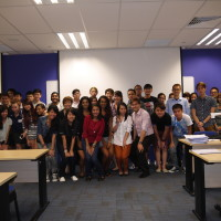 Kaplan Marcom class with Jason Tan Lecturer