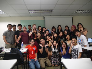 Fun Ad310 Class photo with Strongerhead