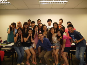 Fun Media Planning Strongerhead class photo