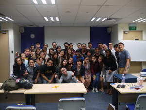 PTDipMComm20 Class photo with Strongerhead 2