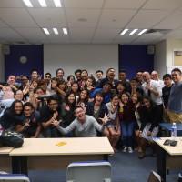 PTDipMComm20 Class photo with Strongerhead