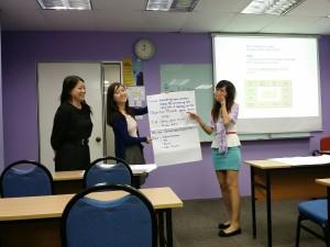 Post graduates presentation