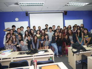 FTDIpComm19 Marketing Principles Class (one of my most happening full time principles of marketing class)