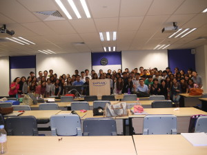 My biggest and best PT market & customer class at Northumbria