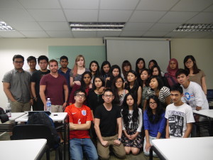 Serious Ad310 Class photo with Strongerhead