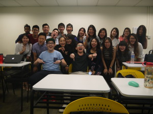Account Planning Class photo with Jason Tan lecturer