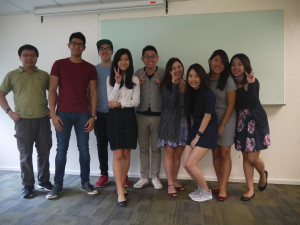 Advertising Campaign Development Class photo with Strongerhead