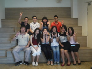 ADVT3000 Class at DDB Tribal with Charmaine Foo and Jason Tan Lecturer