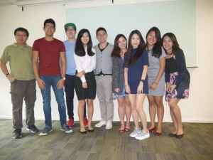 Jason Tan lecturer ADVT3000 class photo