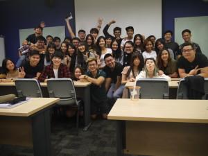 Super happy class photo