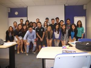 Murdoch Bridging BComm28(F) class photo with Jason Tan Strongerhead