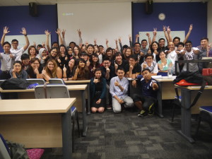 MK0273 Kaplan class photo with Jason Tan lecturer