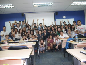 Mk0273 Full time Happy Class Photo with Jason Tan Lecturer