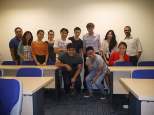 Mk0274 Marcom class photo with Jason Tan Lecturer