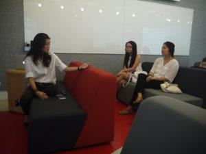 tbwa-talent-manager-mandy-addressing-advt3000-class