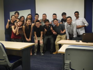 BBIMC class photo with Jason Tan lecturer