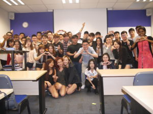 MComMM32 Marcom class with Jason Tan Lecturer