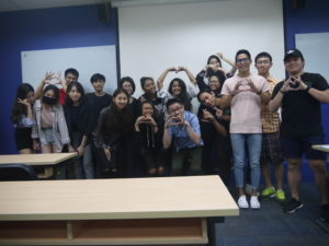 MComm33 Marketing Class with Jason Tan Lecturer