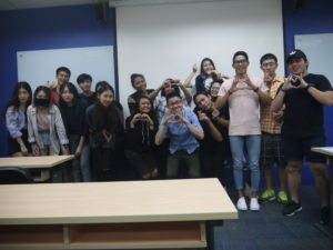 MComm33 Marketing Class with Jason Tan Strongerhead