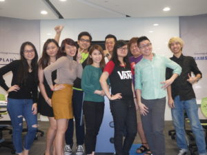 PTSRM10 Blended learning Marketing class with Jason Tan Lecturer
