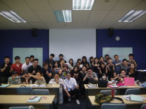 UCD Marcom Digital Marketing class with Jason Strongerhead