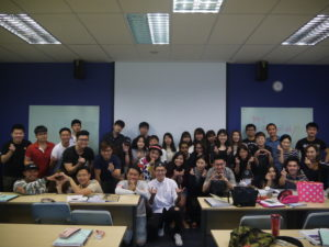 UCD Marcom Digital Marketing class with Jason Tan Strongerhead